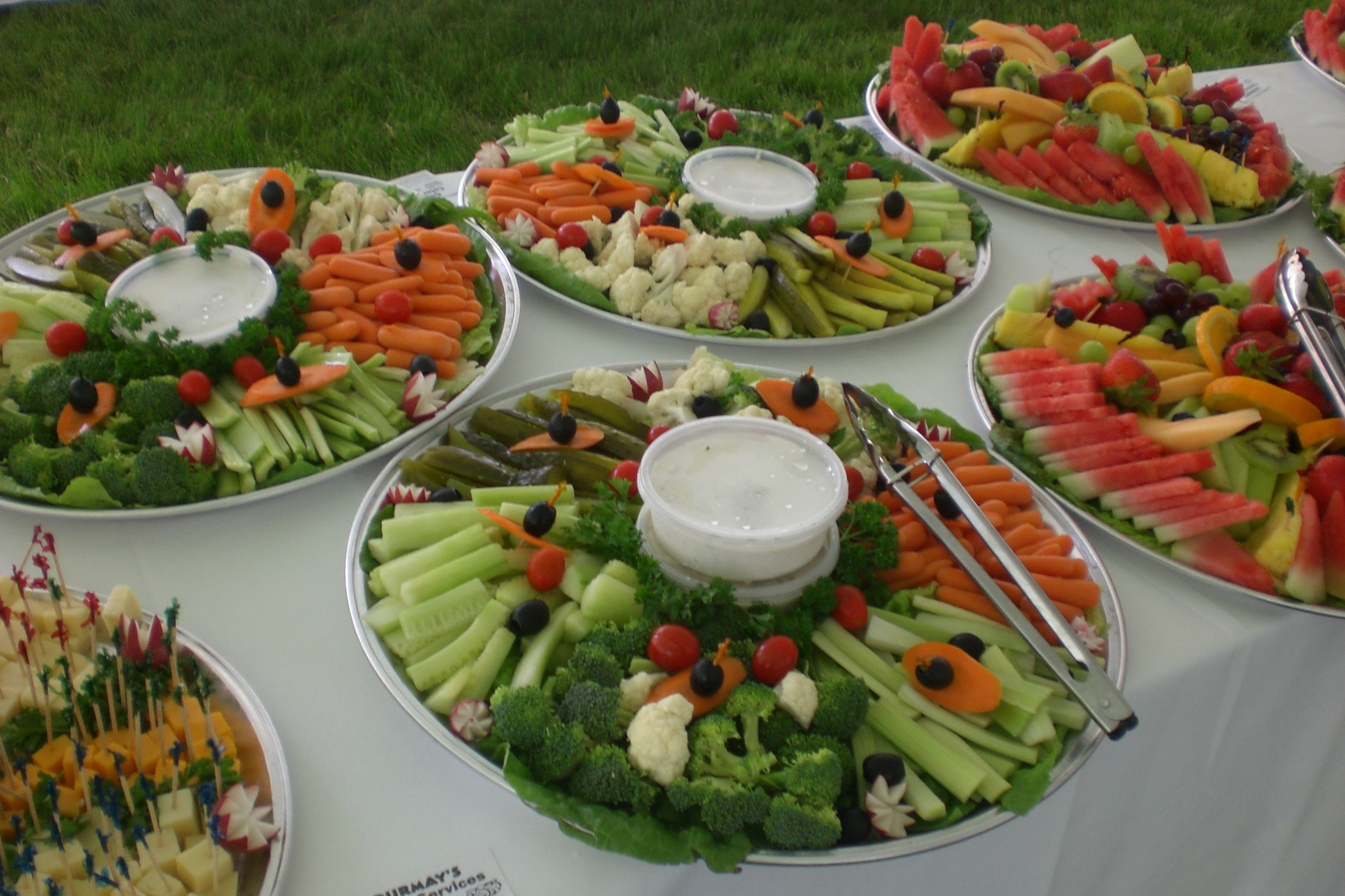 Gourmays Catering Service Hors D Oeuvres